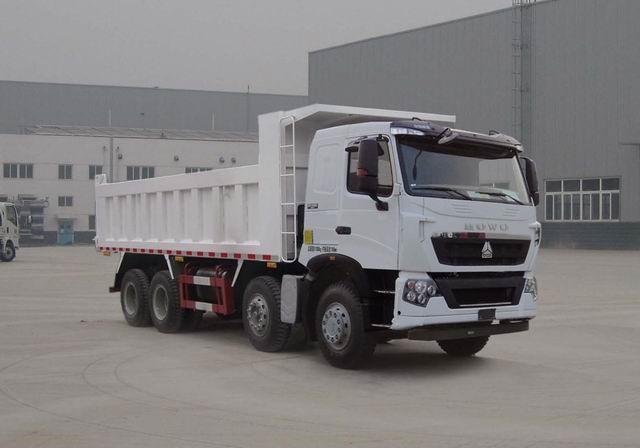 380HP 8x4 tipper Truck