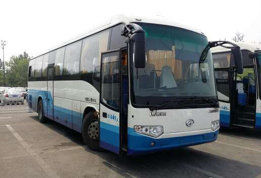 Great Performance Higer KLQ6125A Passengers used bus 49 seats