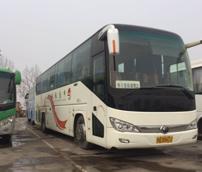 Luxurious Used YUTONG Buses 2015 Year Euro-IV Emission Standard With 51 Seats