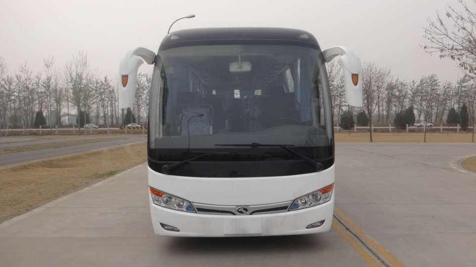 Used Kinglong 51 seats Bulk Passengers Bus With Low Price