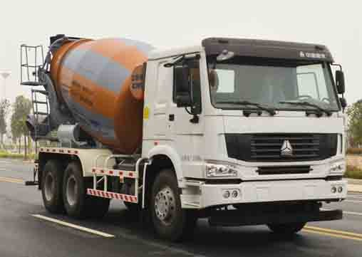 Used 340hp 10m3 ZOOMLION-HOWO Concrete Mixer Truck