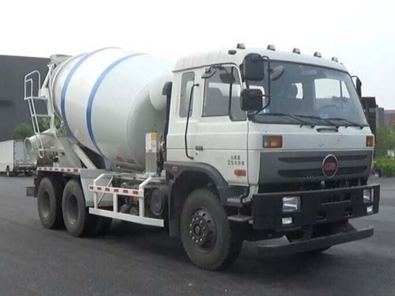 used portable HOWO 8m3 concrete mixer