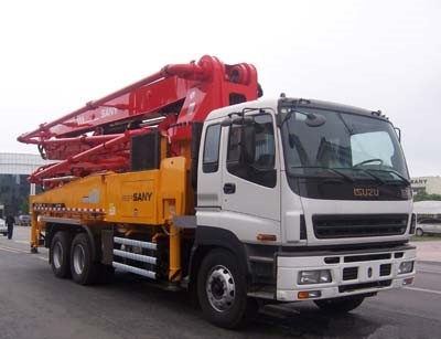 46m pump used ISUZU-SANY Concrete pump truck