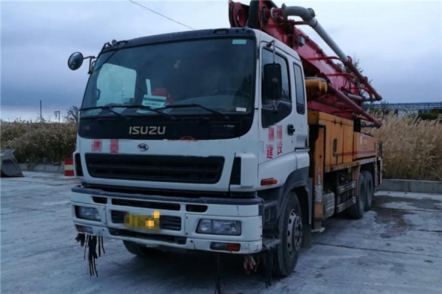 Isuzu-Putzmeister USED Concrete Pump Truck 36m