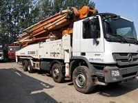 USED BENZ--ZOOMLION Concrete Pump Truck 49m