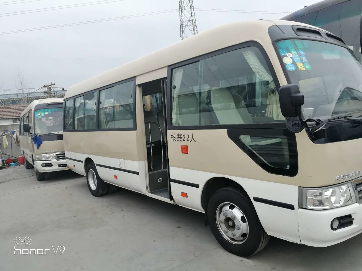 22 Seats Second Hand Toyota Coaster Bus , 2013 Year Toyota Coaster Used