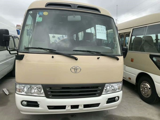 TOYOTA Used Coaster Bus With 16-30 Seats Diesel Engine & Gasoline Engine
