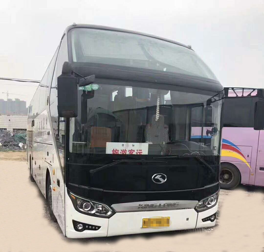 39 Seats Huge Kinglong  Used Coaster bus 2013 Year Weichai Diesel Vehicle Second hand Buses