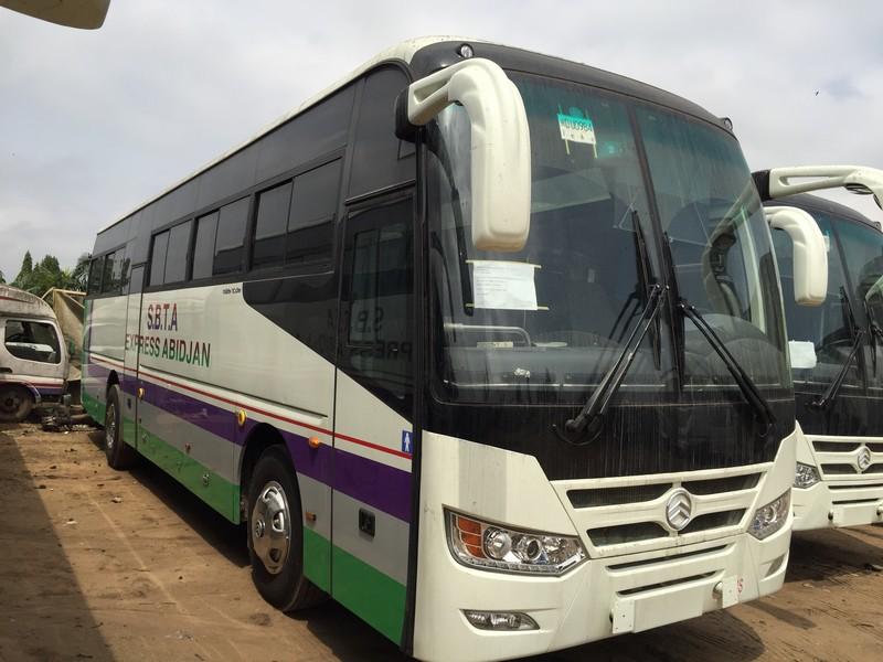 Big Market Second hand 48 Seats Golden Dragon Brand USED Coach Bus 2011 Year 300HP For Sale