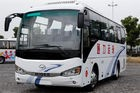 2014 Year Higer 35 seat Wheelbase 4250mm Used mini bus  100km/h speed diesel national standard emission