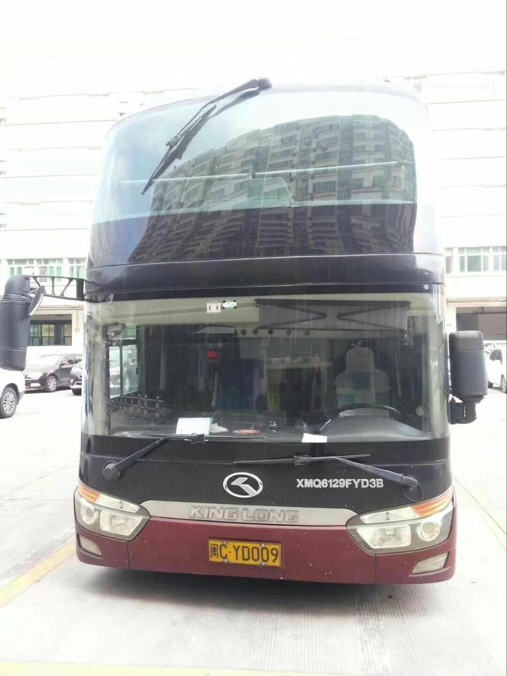 Big Second Hand Market Cooper Enterprise Used Kinglong Coach Bus For Sale with 50 SEATS India price