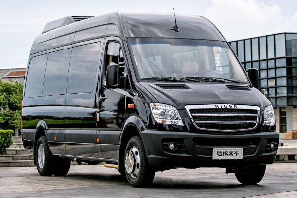 Higer Brand Used Mini Bus 10-21 Seat 100km/H Max Speed For Convenient Tourism