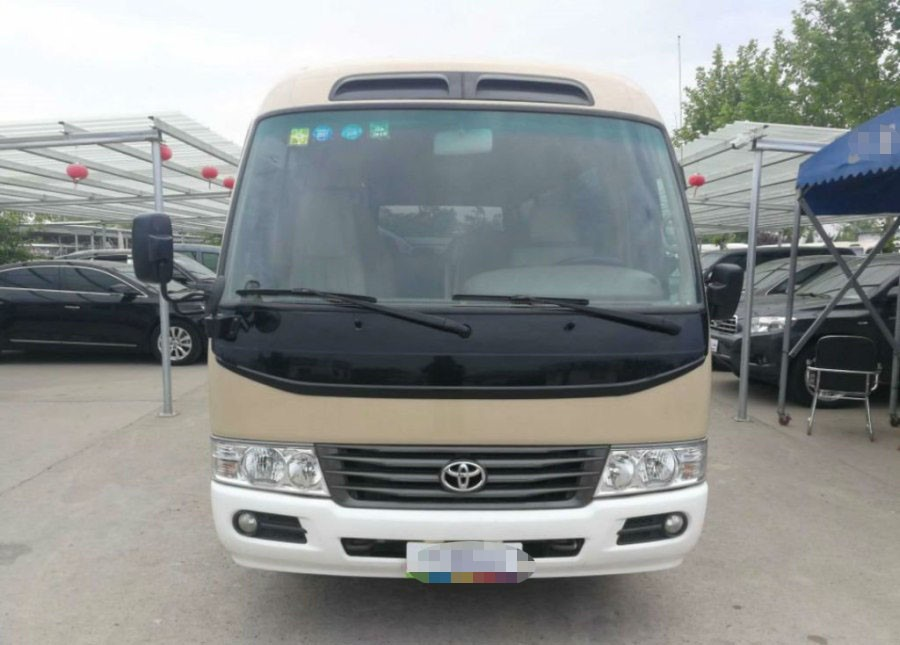 21 seats TOYOTA Used Coaster Bus 2012 Year Cheap Price with Nice Condition For Big Sale