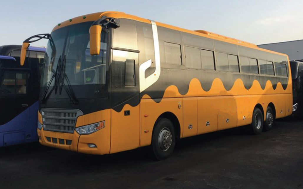 3850mm Bus Height Promotion Bus Zhong Tong Bus Euro III Emission Stand