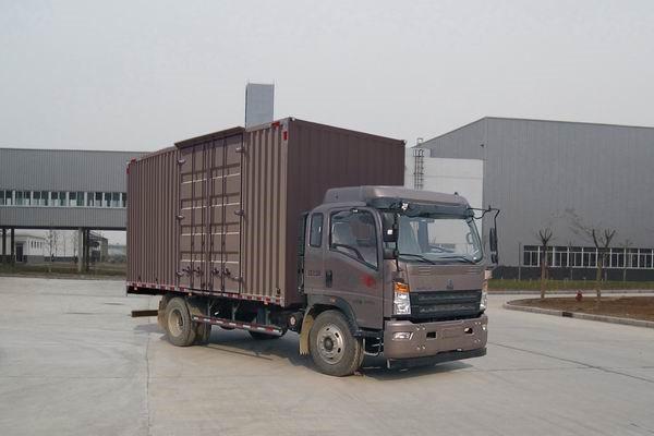 4×2 154hp  EURO IV Used SINOTUK-HOWO Lorry Truck