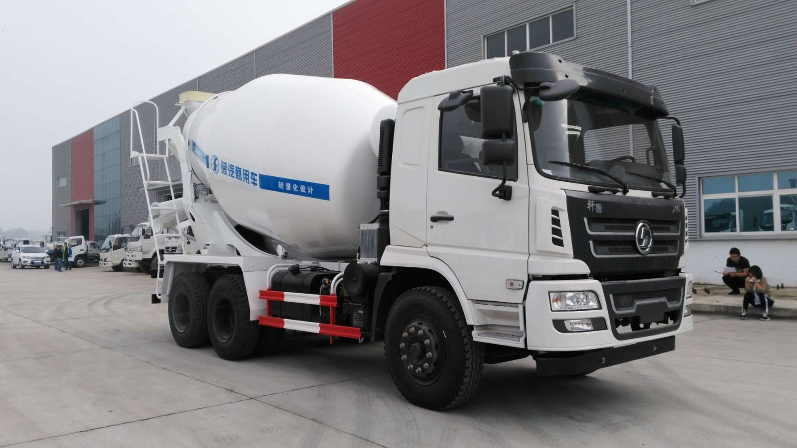 Used 10m3 SHACMAN Concrete Mixer Truck